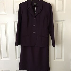 Lavender Leslie Fay Suit and skirt